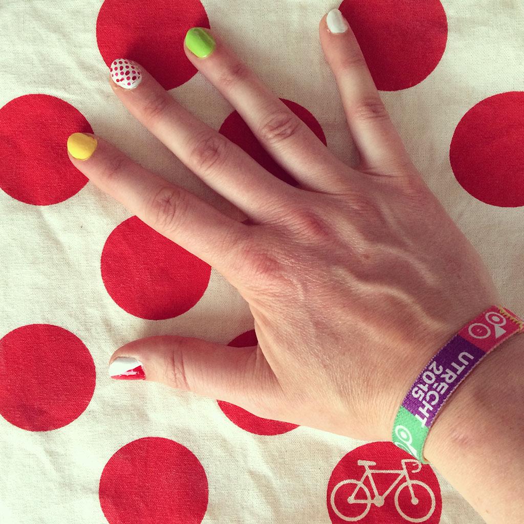 Tour de France nagels